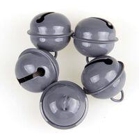 Clochettes de Noël de forme ronde en métal 6pcs - cloches à