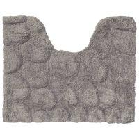 Sealskin Tapis de toilette Pebbles Coton 50x60 cm Gris