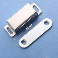 Porte magnétique en acier inoxydable - Attaches d'armoire à