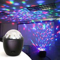 Disco ball party stage projecteur lumières mini led activé par la
