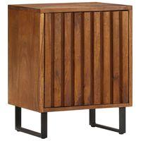 vidaXL Table de chevet  40x30x50 cm Bois de manguier massif