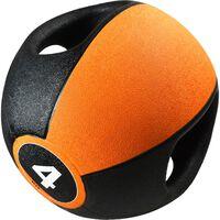 Pure2Improve Ballon médicinal avec poignées 4 kg Orange