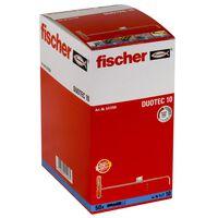 Fischer Ensemble de chevilles en nylon DUOTEC 10 50 pcs