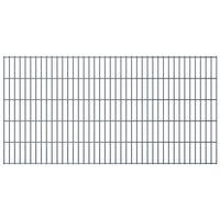 vidaXL Panneaux de clôture de jardin 2D 2,008x1,03 m 6 m total Gris