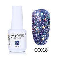 Nail art glitter gel-vernis à ongles tremper hors gel vernis diamant