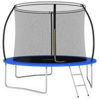vidaXL Ensemble de trampoline rond 305x76 cm 150 kg