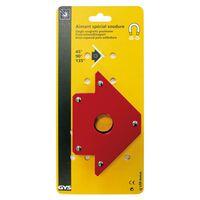 GYS Positionneur de soudage magnétique 30 x 13,8 x 2,5 cm Rouge