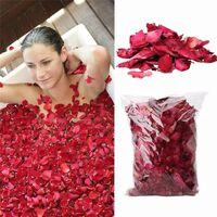 Rose séchée, paquet de pétales de fleurs naturelles pour bain, spa