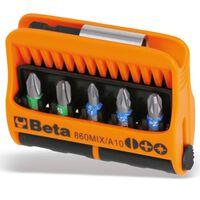 Beta Tools 10 embouts avec porte-embout magnétique 860MIX/A10