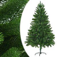 vidaXL Arbre de Noël artificiel Aiguilles réalistes 210 cm Vert