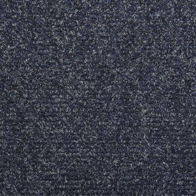 vidaXL Tapis de marches d'escalier 5 pcs Anthracite 65x25cm Aiguilleté