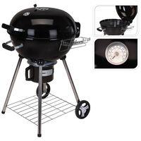 ProGarden Barbecue sous forme de bouilloire 68 x 57 x 99 cm