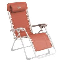 Outwell Chaise de camping inclinable Ramsgate Rouge chaud
