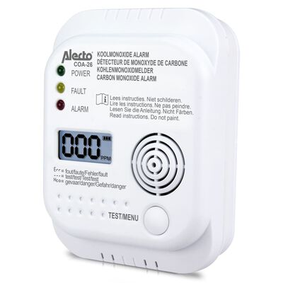 Alecto Détecteur de monoxyde de carbone COA-26