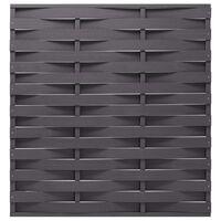 vidaXL Panneau de clôture WPC 170x180 cm Gris