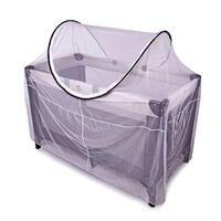 DERYAN Moustiquaire pour lit de camping 120x60x100 cm Blanc