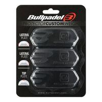 Bullpadel, 3x Poids de Raquette, Protector - Noir