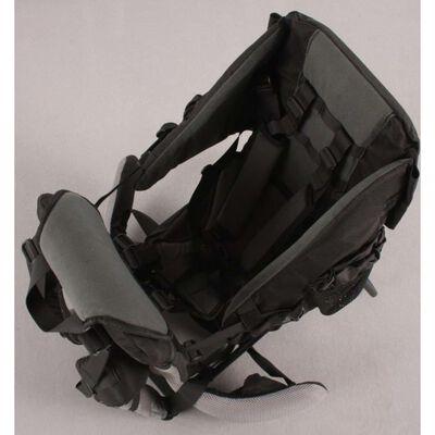 Kekk Porte-bébé dorsal Deluxe Noir