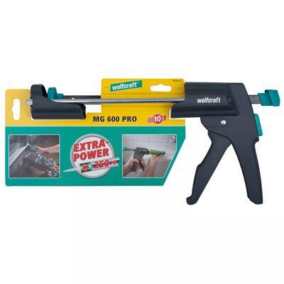 wolfcraft Pistolet de calfeutrage mécanique MG 600 PRO
