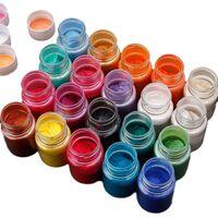 Bouteilles de pigment de perle de poudre minérale de mica naturel de