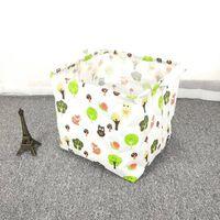 Panier à linge pliant cube pour jouet pour enfants, panier de
