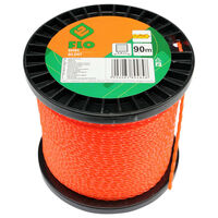 FLO Fil de coupe-herbe Silent 2,4 mm 90 m Orange