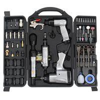 vidaXL Kit d'outils pneumatiques 70 pcs