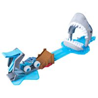 Monster Jam Ensemble de voitures de course jouet Megalodon Mayhem 1:64