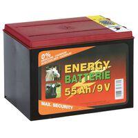 Kerbl Batterie sèche Carbone de zinc 9 V 55 Ah