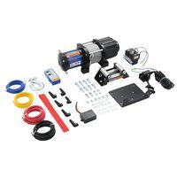 vidaXL Treuil électrique 12 V 4500 lbs 2040 kg avec télécommande
