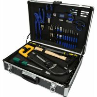 BRILLIANT TOOLS Mallette d'outils universels 143 pcs Acier