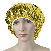 Bonnet de douche bonnet de bain élastique couverture de cheveux