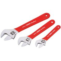 Draper Tools Jeu de clés à molette Redline 3 pièces 67634