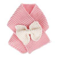 Hiver bébé filles princesse avec noeud - écharpe en laine à