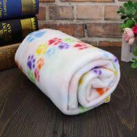 Doux mignon chien couverture hiver chaud chat chien tapis de lit