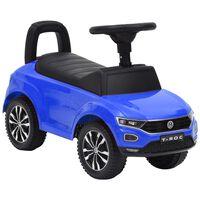 vidaXL Voiture à pédales Volkswagen T-Roc Bleu
