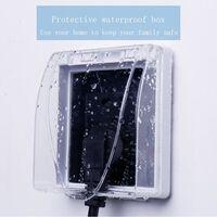 Boîtier de protection pour interrupteur de panneau de panneau de