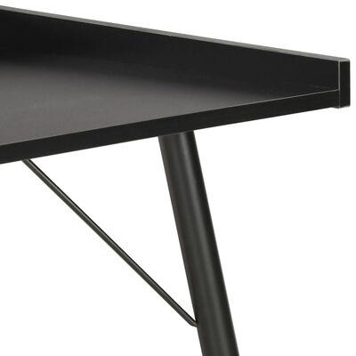 vidaXL Bureau Noir 90x50x79 cm