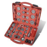 vidaXL Kit d'outils de filetage de piston d'étrier 40 pcs