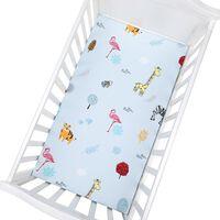 Housse de matelas pour lit bébé doux et confortable