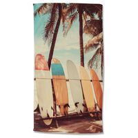 Good Morning Serviette de plage VINTAGE SURF 100x180 cm Multicolore