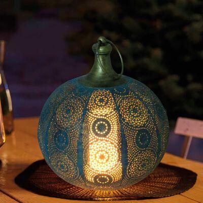 Luxform Lanterne de jardin à LED à piles Tiznit Vert