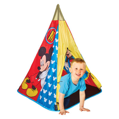 Worlds Apart Tente de jeu tipi Mickey Mouse 100x100x120 cm