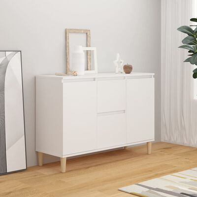 vidaXL Buffet Blanc 103,5x35x70 cm Aggloméré