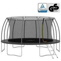 vidaXL Ensemble de trampoline rond 488x90 cm 150 kg