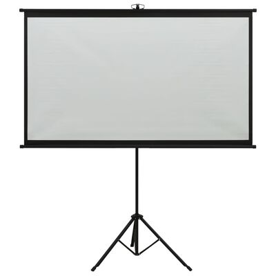 """vidaXL Écran de projection avec trépied 84"""" 16:9"""