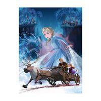 Puzzle 200 p XXL - La foret mysterieuse / Disney La Reine des Neige
