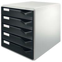 Leitz Classeur 5 tiroirs Noir