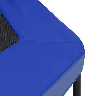 vidaXL Trampoline avec poignée et coussin de sécurité hexagonal 122 cm