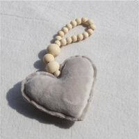 Pendentif pendentif perle en bois